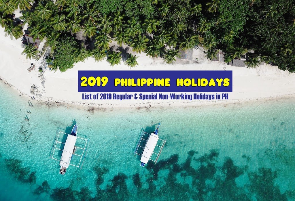 Hot List : 2019 Philippine Holidays
