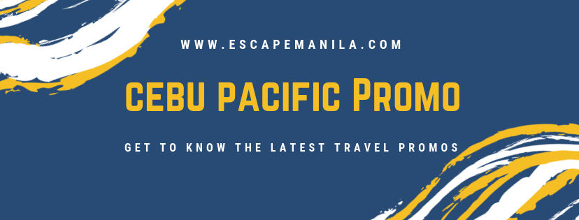 PHILIPPINES TRAVEL PROMOS : Cebu Pacific's PISO Fare