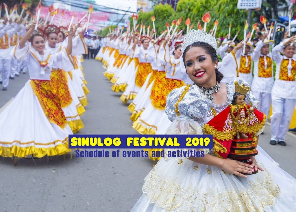 Sinulog Festival 2019 : Schedule of Events and Activities