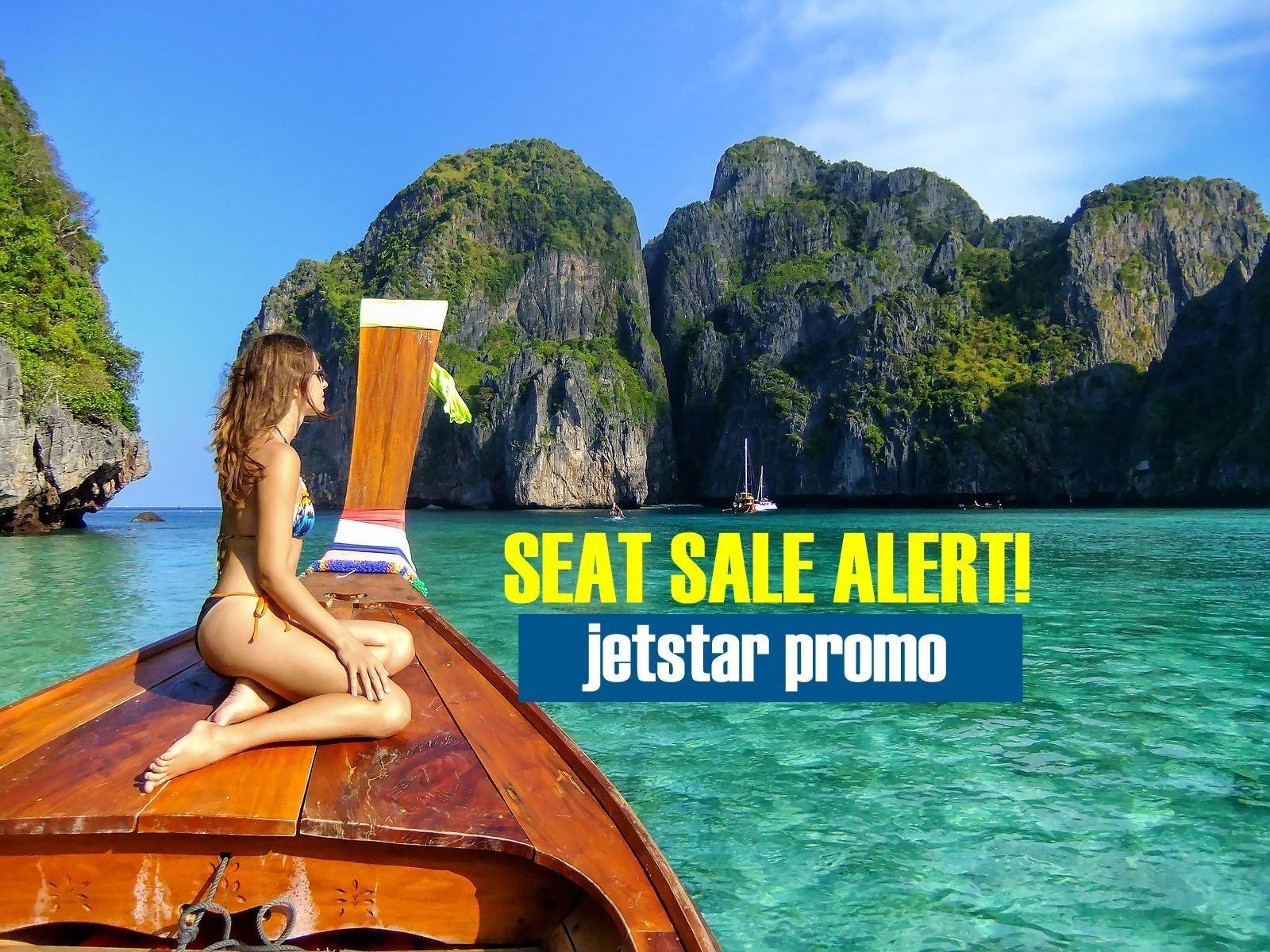 Seat Sale Alert: Jetstar Prosperity Sale