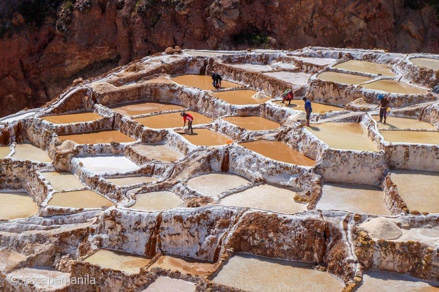 Salinera de Maras, Peru