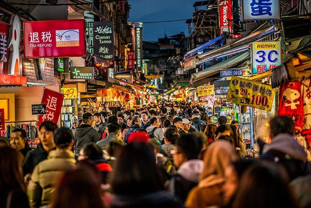 Top tourist spots in taipei - Shilin Night Market