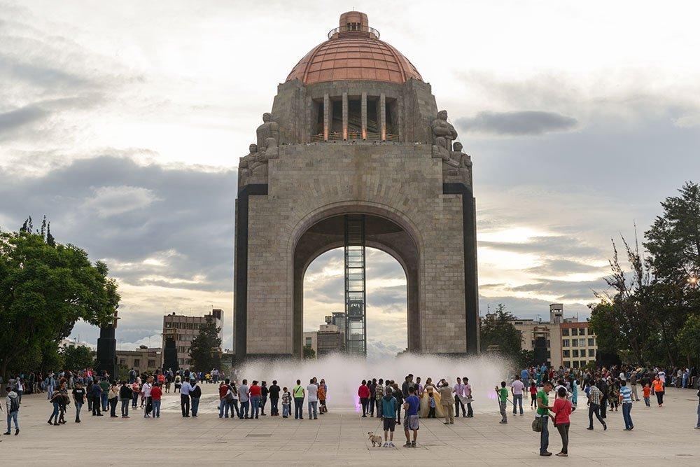 Monument to the Mexican Revolution (Monumento a la Revolucion Mexicana)