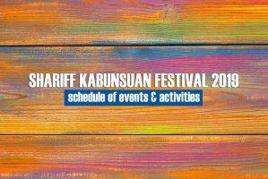 Shariff Kabunsuan Festival 2019
