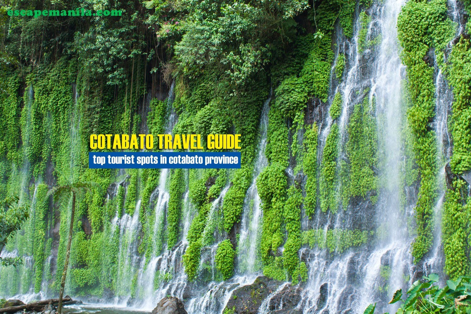 Top Tourist Spots in Cotabato Province [And How To Get There]