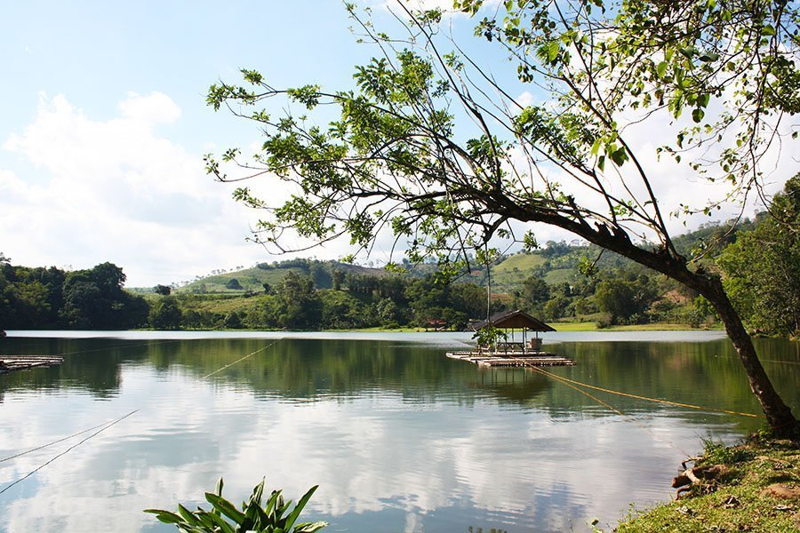 Lake Apo, one of the top tourist spots in Bukidnon