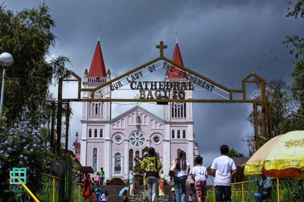 Top tourist spots in baguio: Baguio Cathedral