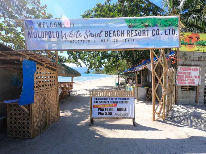 Tourist spots in Liloan: Molopolo Beach