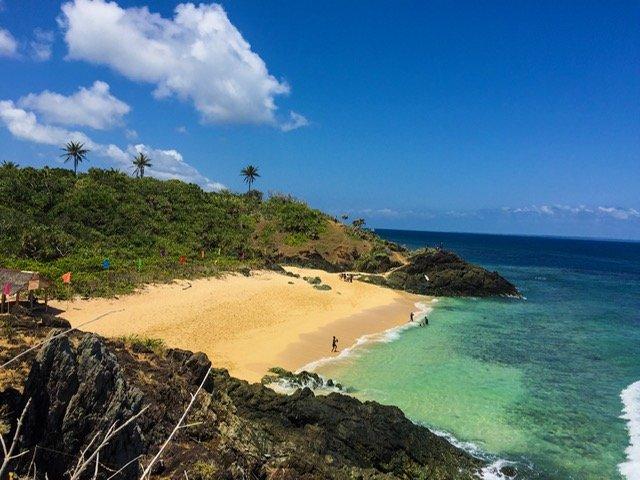 Lingayen Cove or Little Batanes in Jomalig Island