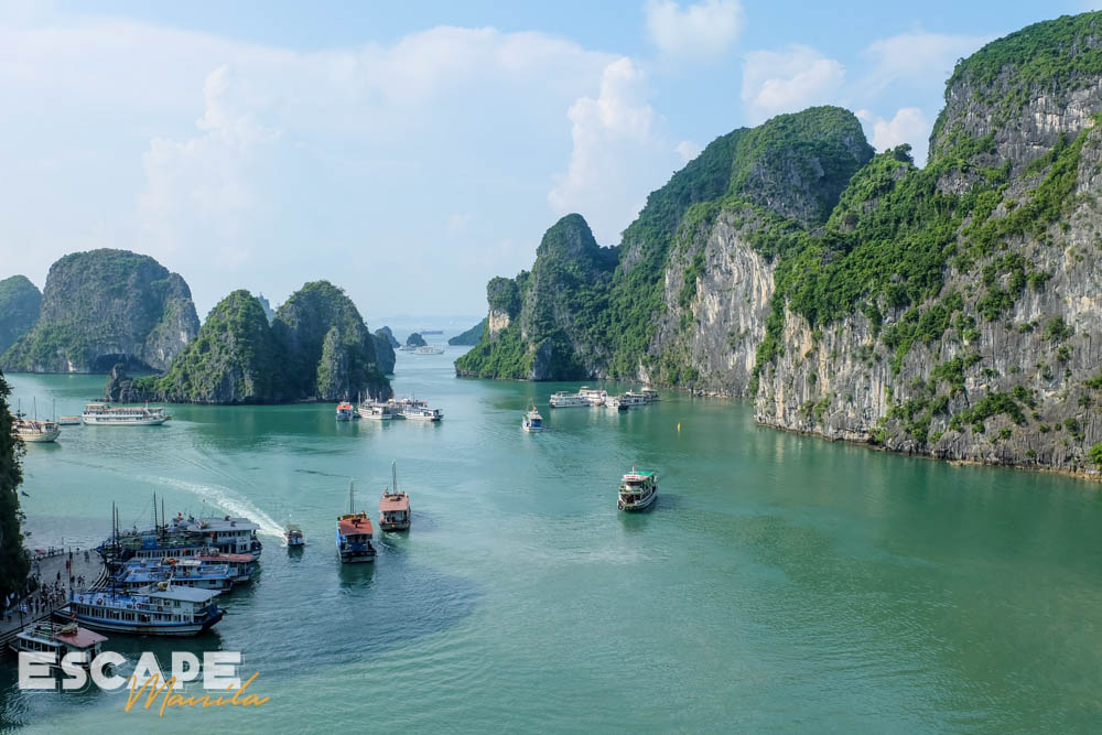 Ha Long Bay, one of the top tourist attractions in Hanoi