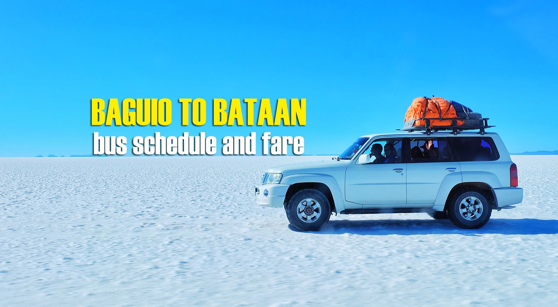 Baguio to Bataan: 2020 Bus Schedule and Fare