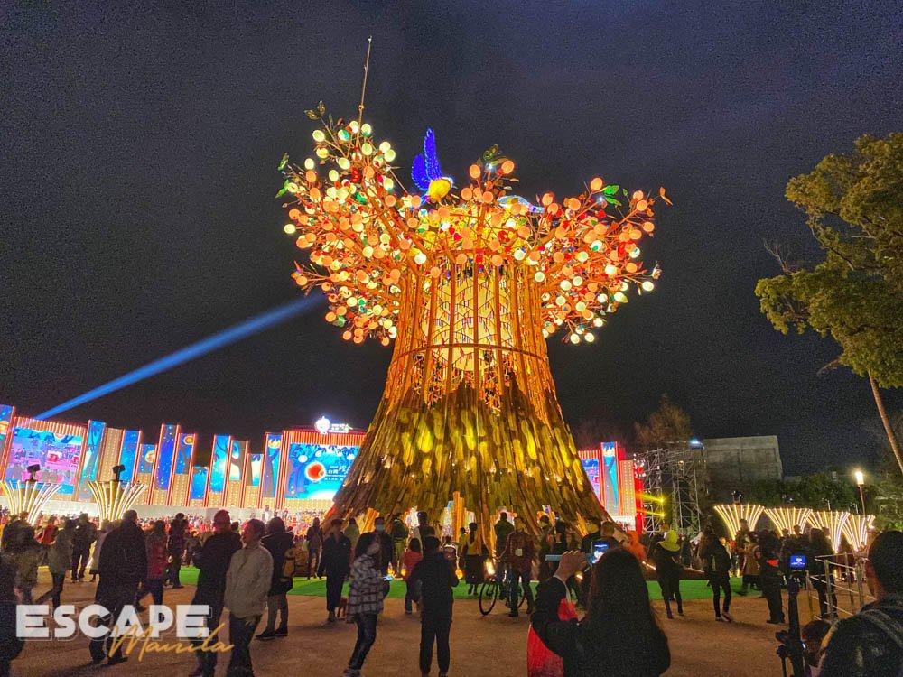 Taiwan Lantern Festival in Taichung