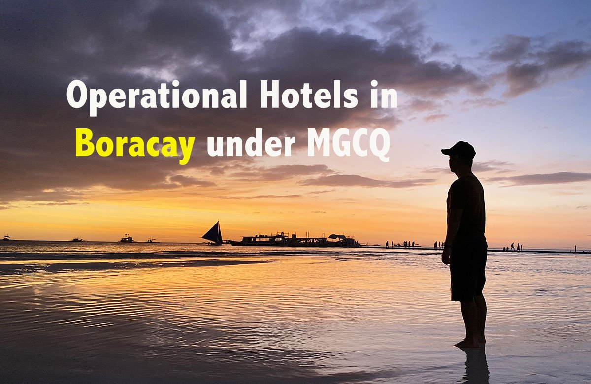 LIST: Operational Hotels in Boracay under MGCQ