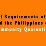 Travel Requirements of LGUs Around the Philippines during Community Quarantine