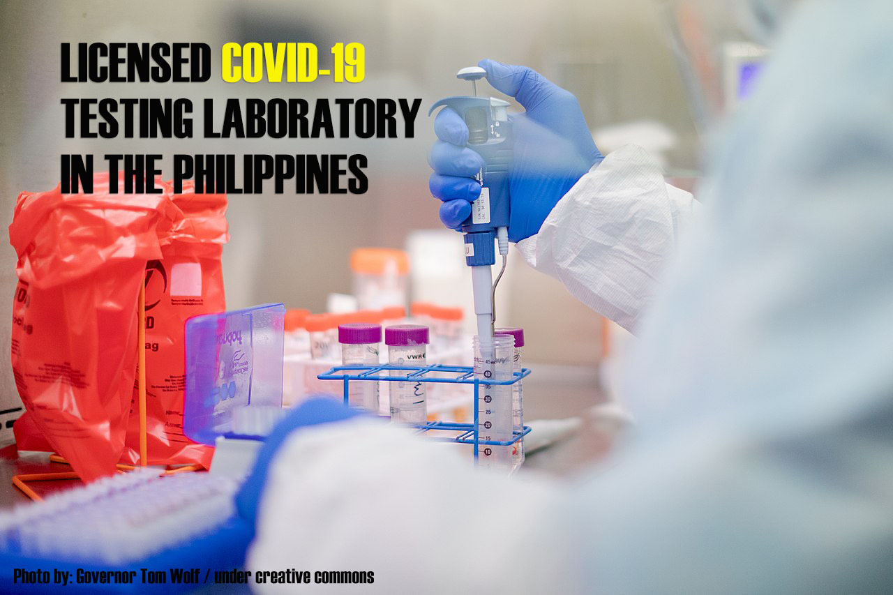 2021 LIST OF DOH-ACCREDITED COVID-19 TESTING CENTERS IN THE PHILIPPINES
