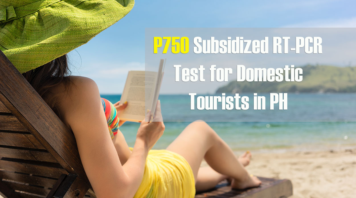 P750 Subsidized RT-PCR Test for Domestic Tourists in PH at PCMC