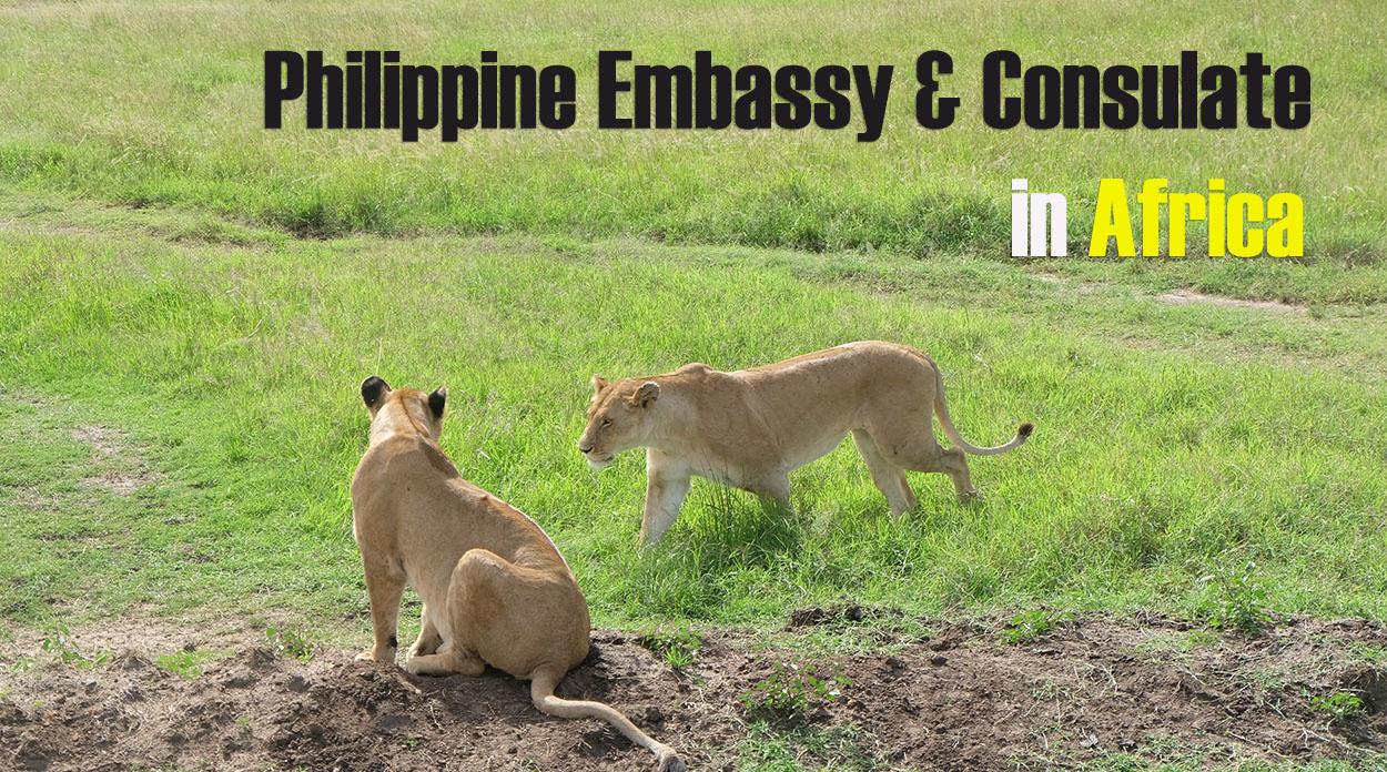List of Philippine Embassies & Consulates in Africa