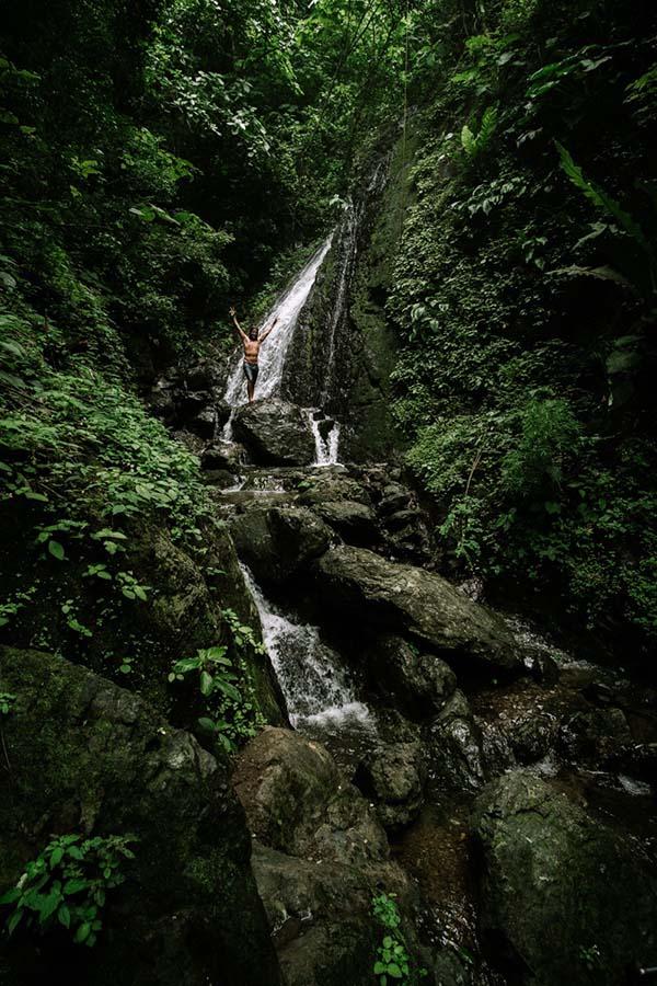 En invierno, las lluvias hacen que se forme una cascada. Foto: Enrique Avilés.