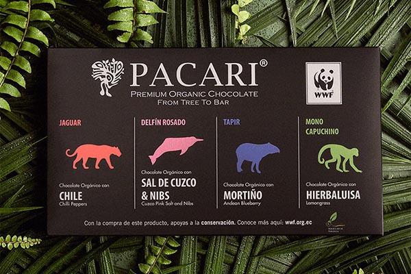 Barras chocolate Pacari
