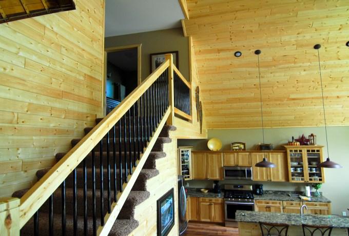 Grindstone loft stairs