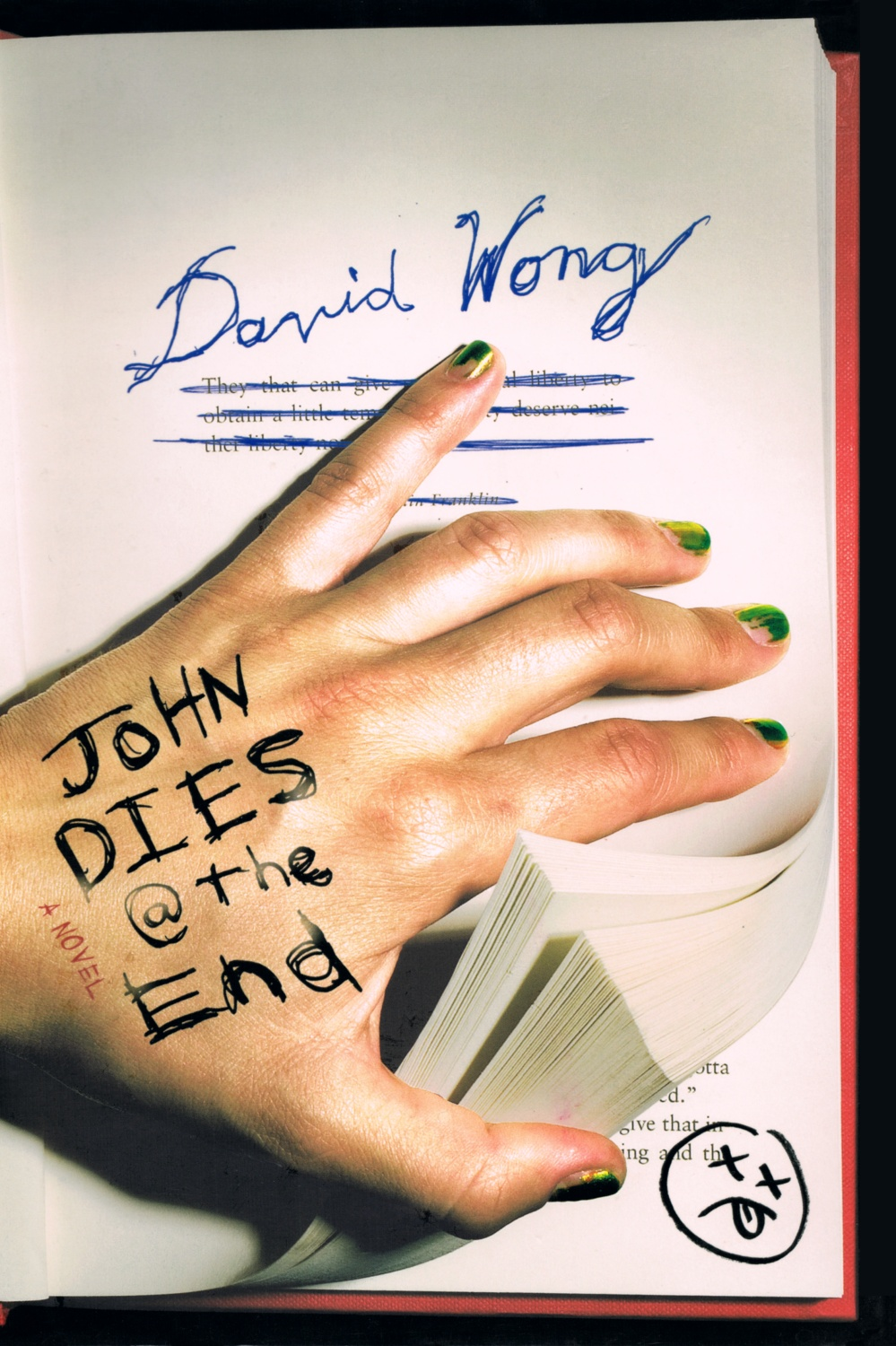 Image result for john dies at the end book cover