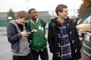 Andrew (Dane DeHaan), Steve (Michael B. Jordan), and Matt (Alex Russell)