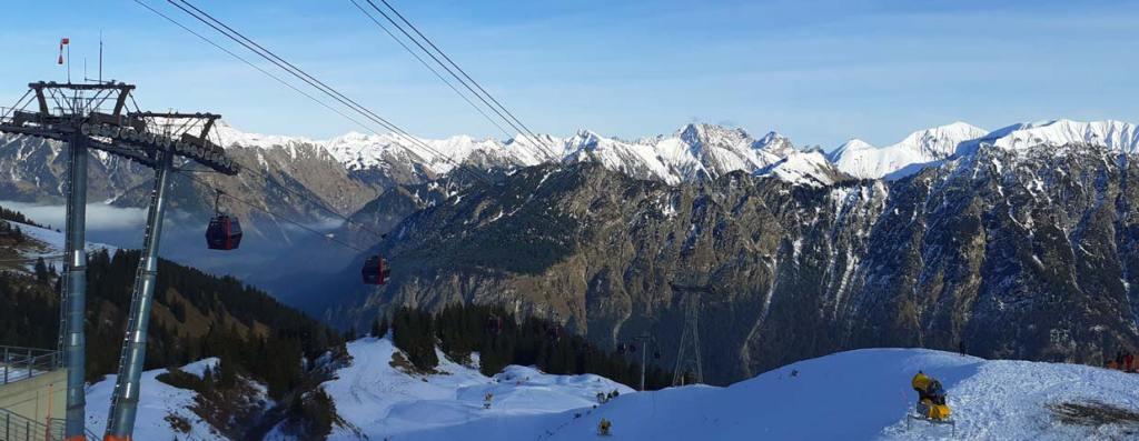 Schlechtwetter Oberstdorf - Regenfahrt Bergbahn