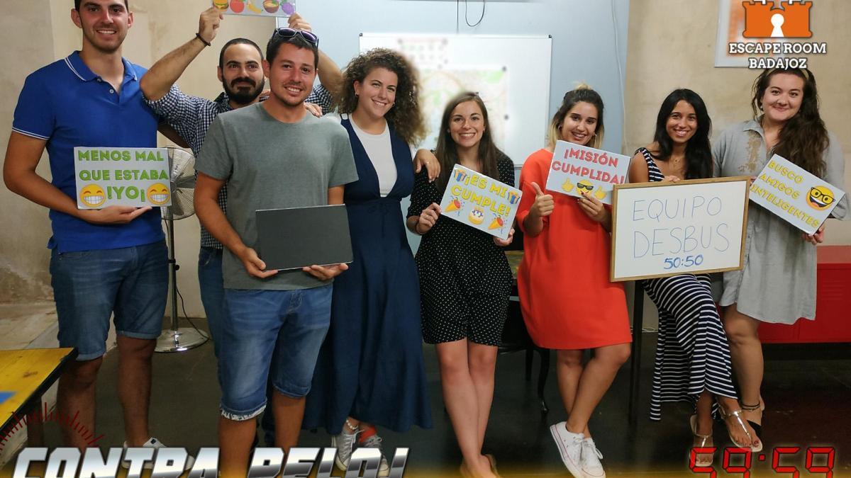 Equipo Desbus – Escape Room Badajoz