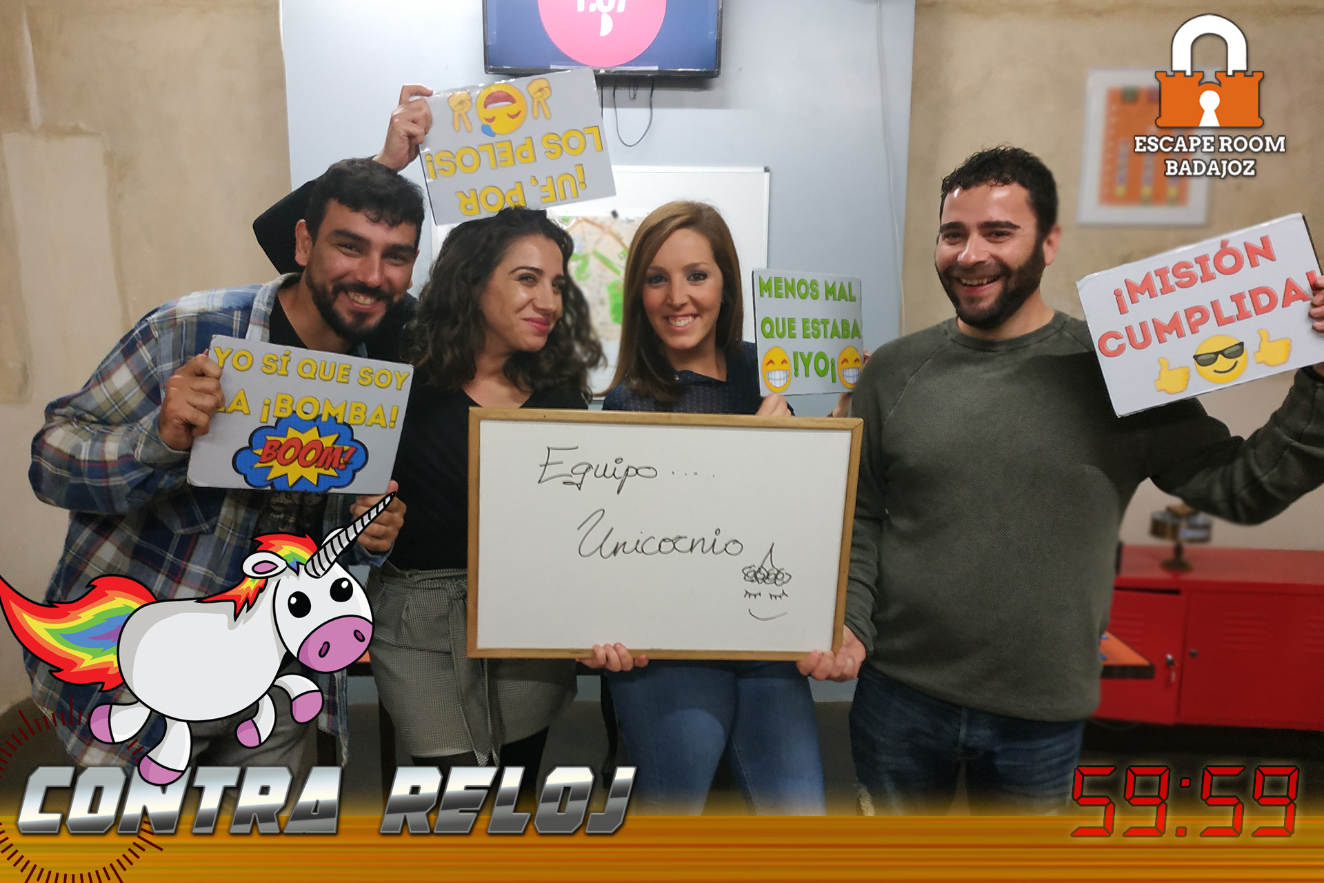 Equipo-unicornio-escape-room-badajoz