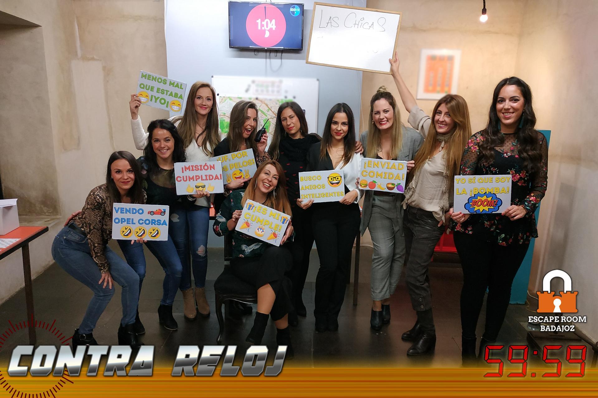 Equipo-Las-chicas-del-barrio-Escape-Room-Badajoz