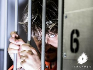 Trapped in a Prison Van