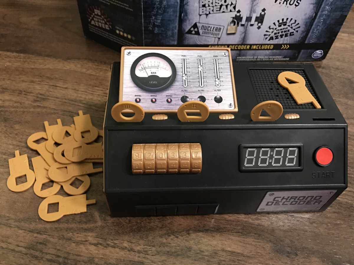Awesome Escape Rooms Game Part - 4: Escape Room: The Game U2013 Spin Master Games