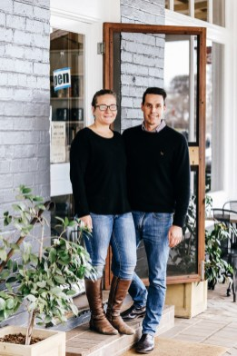 Lauren & Craig Johnson, Exeter General Store, Exeter