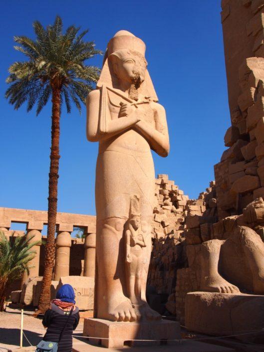 Coloso en Karnak