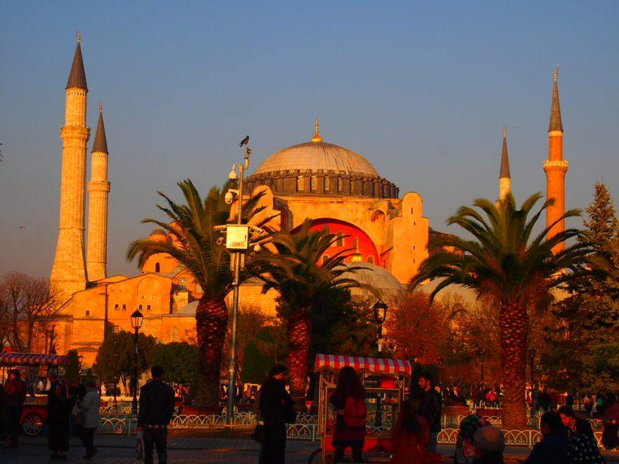 Santa Sofía Estambul12 días en turquia guia de viaje