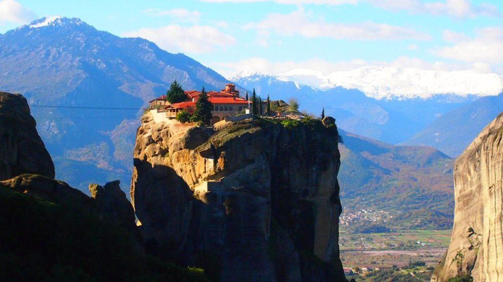 MONASTERIOS METEORA. Destinos de Grecia que te cautivarán