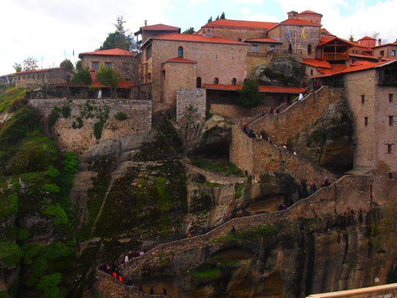 El Monasterio de la Transfiguración o Gran Meteoro -MONASTERIOS METEORA. Destinos de Grecia que te cautivaran este 2019