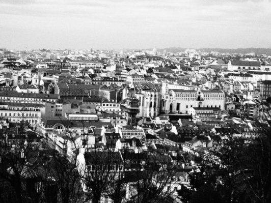 Vista de Lisboa desde el Castillo Fotografiando a Lisboa: Guía de viaje, qué ver en 1 día