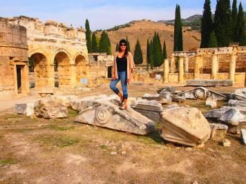 Hiriapolis Pamukkale 12 días en turquia guia de viaje