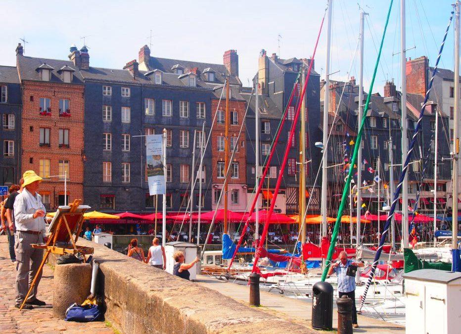 ▷ Quér ver en Honfleur  |  Ruta por Baja Normandia Francia