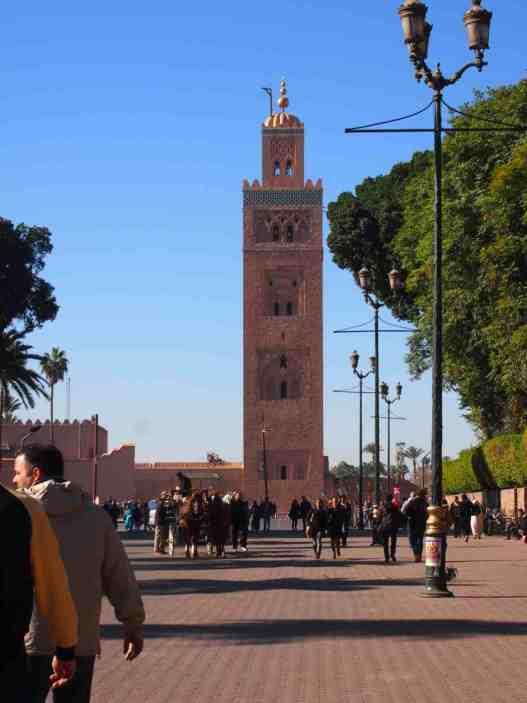 Mezquita Kutubía imprescindibles Marrakech