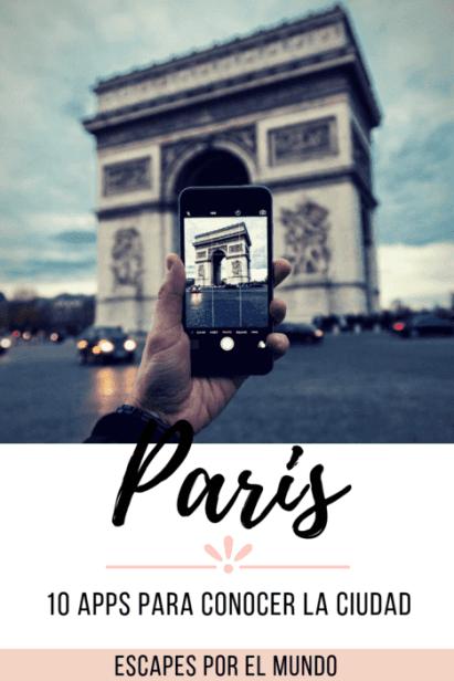 10 aplicaciones para viajar a paris