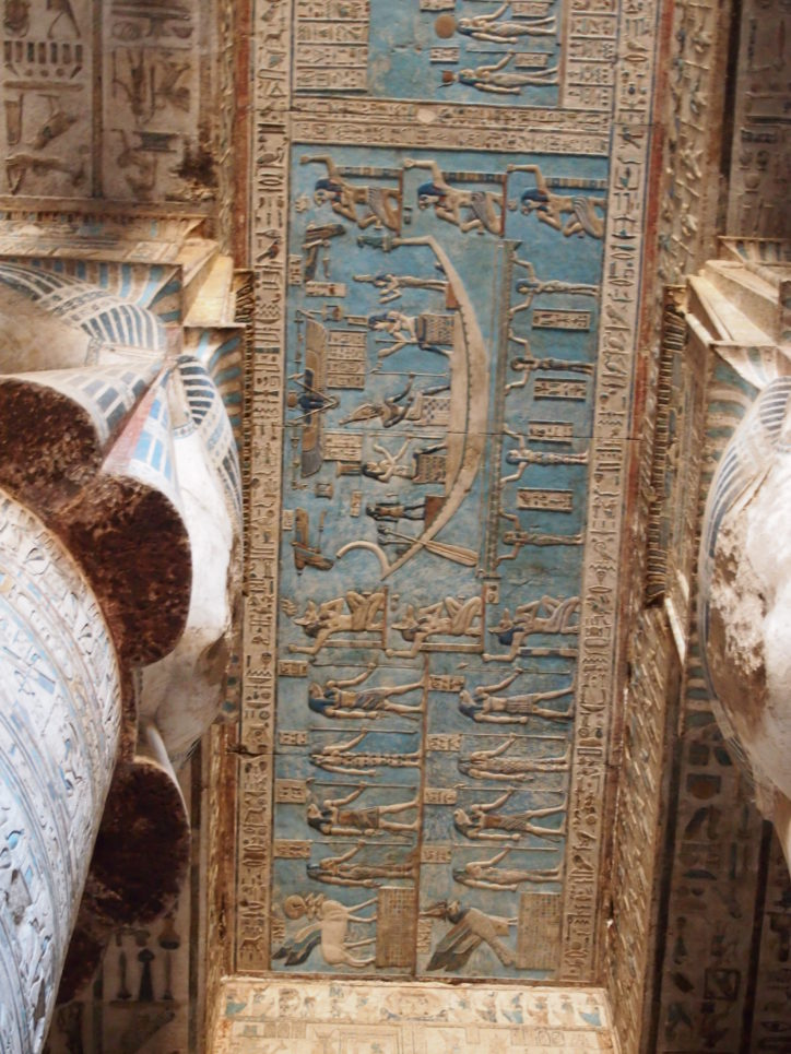 10 tempplos que debes conocer en Egipto-Templo Hathor Dendera
