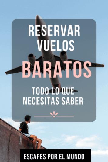 Reservar vuelos BARATOS online
