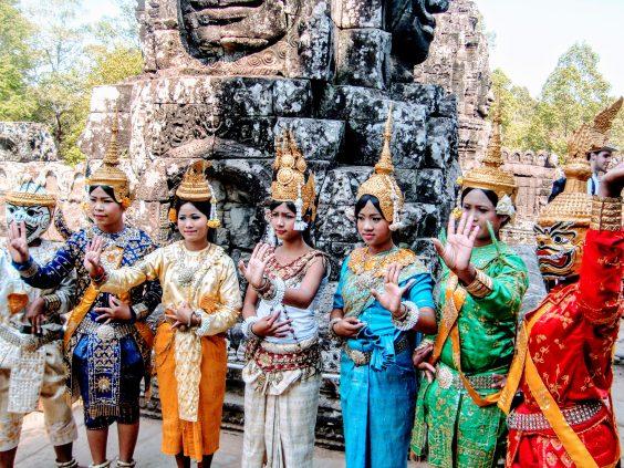 Angkor la ciudad templo | Guía Imprescindible de viajes apsara bailarinas
