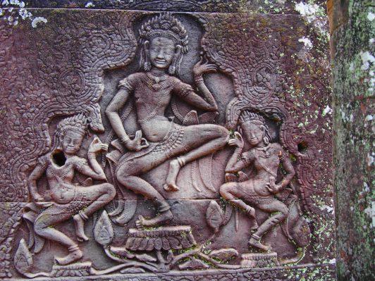 Angkor la ciudad templo | Mega Guía de viajes Grabados Apsaras