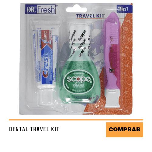 Los 10 accesorios de viaje esenciales para llevar en el avión kit de higiene