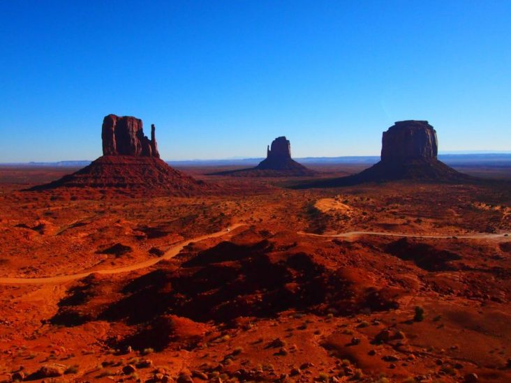 Reserva Indigena Valle de los Monumentos Arizona USA