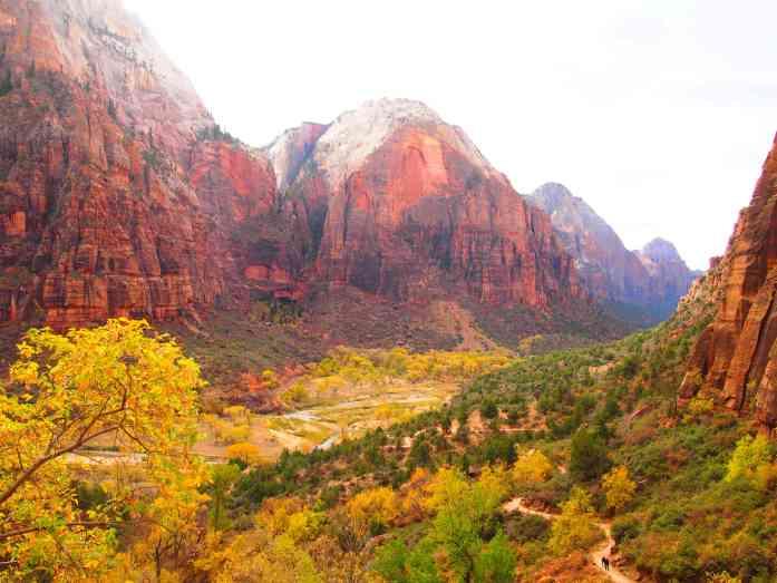 Parque Nacional Zion Los 6 parques Nacionales más visitados en un road trips por el Oeste de Estados Unidos