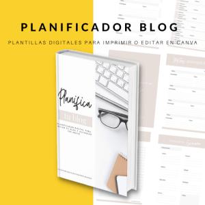 planificador blog